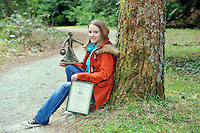 "REPRO FREE: UCC genetics student and poet, Mairead O""Sullivan from Lissivigeen, Killarney winner of the open poetry competition in 2012 pictured in the Hugh O'Flaherty Memorial Plantation at Muckross Arboretum this week for the launch of this years O'Flaherty Art & Literary Competitions. Closing date for entries is September 20th and further information on www.hughoflaherty.com .Picture by Don MacMonagle..REPRO free photo..INFO:.The 6th Hugh O'Flaherty Memorial Week will take place in Killarney between Sunday October 27th and Sunday November 3rd 2013.The Hugh O'Flaherty Memorial Society has three elements to its Mission Statement - the third one of these is:Through the Annual Hugh O'Flaherty Memorial Weekend we will ensure the continuous promotion of the inspirational story of the Monsignor, through various art forms i.e., Drama, Literature, Film and Art, etc..For the past three years and again this year, the Memorial Weekend Programme will include a dramatic performance related to the event.  As in the 2012 Memorial Weekend, the Society is again going to extend further into its Mission Statement and include Literature and Visual Art."