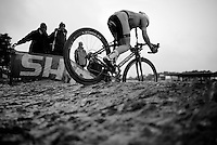 into the muddy abyss<br /> <br /> Zolder CX UCI World Cup 2014
