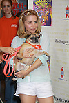 """One Life To Live Kerry Butler """"Claudia Reston"""" stars in Catch Me If You Can"""" and attends Broadway Barks Lucky 13th Annual Adopt-a-thon - A """"Pawpular"""" Star-studded dog and cat adopt-a-thon on July 9, 2011 in Shubert Alley, New York City, New York with Bernadette Peters and Mary Tyler Moore as hosts.  (Photo by Sue Coflin/Max Photos)"""