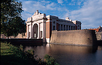 Belgien, Flandern, Gedenkstäätte Menenpoort an den 1. Weltkrieg in Ypern (Ieper)