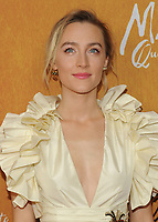 NEW YORK, NY - December 4: Saoirse Ronan attends the 'Mary Queen of Scots' New York Premiere at the Paris Theater on December 4, 2018 in New York City.<br /> CAP/MPI/JP<br /> &copy;JP/MPI/Capital Pictures