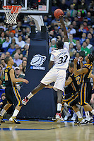 Ibrahima Thomas of the Bearcats puts up a shot and was fouled. Cincinnati defeated Missouri 78-63 during the NCAA tournament at the Verizon Center in Washington, D.C. on Thursday, March 17, 2011. Alan P. Santos/DC Sports Box
