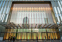 New York, NY 20 November 2014 - Entrance to One World Trade Center (Freedom Tower)