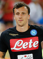 Vlad Chireches during the friendly soccer match,between SSC Napoli and Onc Nice      at  the San  Paolo   stadium in Naples  Italy , August 01, 2016<br />  during the friendly soccer match,between SSC Napoli and Onc Nice      at  the San  Paolo   stadium in Naples  Italy , August 02, 2016