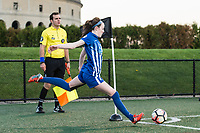 Boston, MA - Sunday May 07, 2017: Rose Lavelle during a regular season National Women's Soccer League (NWSL) match between the Boston Breakers and the North Carolina Courage at Jordan Field.