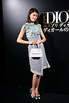 Hikari Mori, Oct 28, 2014 : the 'Esprit Dior' Opening Reception on October 28, 2014 in Tokyo, Japan