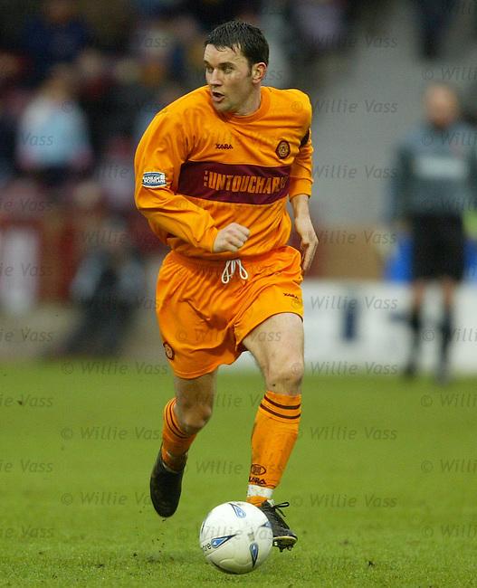 Jason Dair, Motherwell.stock season 2003-04.pic willie vass