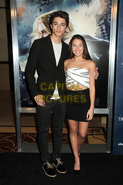 14 January 2016 - Los Angeles, California - Brent Rivera, Lexi Rivera. &quot;The 5th Wave&quot; Los Angeles Premiere held at Pacific Theatres At The Grove.  <br /> CAP/ADM/BP<br /> &copy;BP/ADM/Capital Pictures