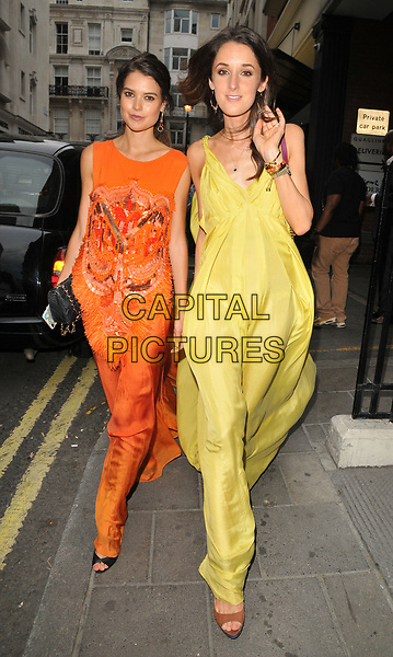 Sarah Ann Macklin and Rosanna Falconer at the Quaglino's Q Legends launch party, Quaglino's, Bury Street, London, England, UK, on Tuesday 18 July 2017.<br /> CAP/CAN<br /> &copy;CAN/Capital Pictures