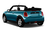 Car pictures of rear three quarter view of 2019 MINI Convertible Cooper-Signature 2 Door Convertible Angular Rear