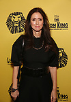Julie Taymor attends the 20th Anniversary Performance of 'The Lion King' on Broadway at The Minskoff Theatre on November 5, 2017 in New York City.