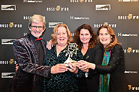 Picture by Simon Wilkinson/SWpix.com 01/122019 -  Rose d'Or 2019 Award Ceremony, red carpet arrivals and winners. Kings Place, London<br /> - ARTS<br /> The Greenaway Alphabet – HOLLAND<br /> NTR, Beeld TV, Wide House