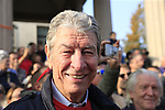 Cycling legend and Bergamo native Felice Gimondi before the start of the 112th edition of Il Lombardia 2018, the final monument of the season running 241km from Bergamo to Como, Lombardy, Italy. 13th October 2018.<br /> Picture: Eoin Clarke | Cyclefile<br /> <br /> <br /> All photos usage must carry mandatory copyright credit (© Cyclefile | Eoin Clarke)