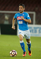 Dries Mertens  during the friendly soccer match,between SSC Napoli and Onc Nice      at  the San  Paolo   stadium in Naples  Italy , August 02, 2016<br />  during the friendly soccer match,between SSC Napoli and Onc Nice      at  the San  Paolo   stadium in Naples  Italy , August 02, 2016