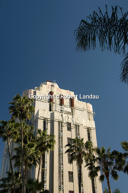 The Sunset Tower hotel on the Sunset strip in Los Angeles