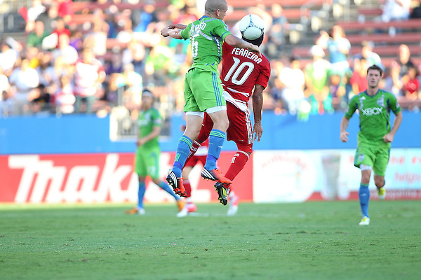 FRISCO, TX - SEPTEMBER 2: at FC Dallas Stadium on September 2, 2012 in Frisco, Texas. (Photo by Rick Yeatts)