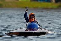 "Jed Wolcott, S-07 ""Blue Chips"", 145 class hydroplane"