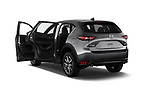 Car images close up view of 2017 Mazda CX-5 Grand Touring 5 Door SUV doors