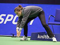 14-12-12, Rotterdam, Tennis Masters 2012, Lineswoman