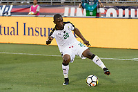 East Hartford, CT - Saturday July 01, 2017: Majeed Waris during an international friendly match between the men's national teams of the United States (USA) and Ghana (GHA) at Pratt & Whitney Stadium at Rentschler Field.
