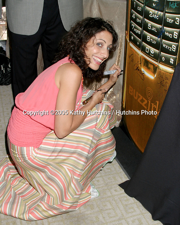 Lisa Edelstein.GBK Productions Emmy Gifting Lounge.Sofitel Hotel.August 24, 2006.©2006 Kathy Hutchins / Hutchins Photo....                 .