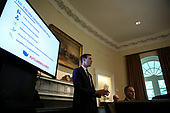 "Senior Advisor Jared Kushner gives an update on ""The Trump Immigration Plan"" during a Cabinet Meeting in the Cabinet Room of the White House, on July 16, 2019 in Washington, DC.<br /> Credit: Oliver Contreras / Pool via CNP"