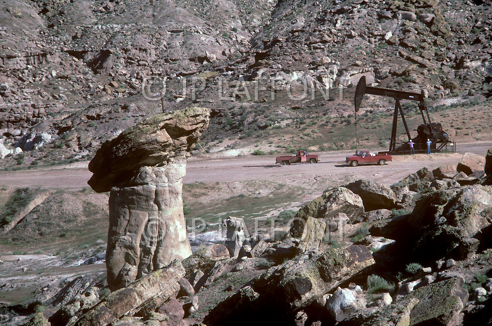 May 6th to 13th, 1985 in Navajo Reserve, AZ. This is in Montezuma Creek which is about 150 miles north of Window Rock. The gas and oil fields are mostly exploited by Mobil Oil Corp. A very substantial reveniew for the Navajo come from their oil field.
