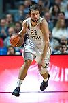 SERGIO LLULL, base del equipo blanco. REAL MADRID - VIZKAIA BILBAO BASKET. Euroleague 2012. 01 Febrero. Palacio de los Deportes...© ALFAQUI FOTOGRAFIA
