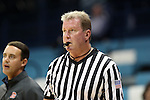 02 November 2016: Referee Mark Hardcastle. The University of North Carolina Tar Heels hosted the Carson-Newman University Lady Eagles at Carmichael Arena in Chapel Hill, North Carolina in a 2016-17 NCAA Women's Basketball exhibition game. UNC won the game 96-70.