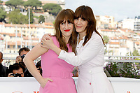 Anne Elizabeth Bosse und Monika Chokri at the 'La femme de mon frère / A Brother's Love' photocall during the 72nd Cannes Film Festival at the Palais des Festivals on May 15, 2019 in Cannes, France