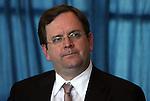 12 April 2012: MLS President Mark Abbott. The Carolina RailHawks held a Media Roundtable at WakeMed Stadium in Cary, NC.