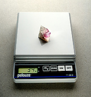 QUANTITATIVE OBSERVATION: WEIGHING A CRYSTAL<br />
