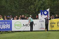 Haydn Porteous (RSA) on the 10th tee during Round 4 of the D+D Real Czech Masters at the Albatross Golf Resort, Prague, Czech Rep. 03/09/2017<br /> Picture: Golffile | Thos Caffrey<br /> <br /> <br /> All photo usage must carry mandatory copyright credit     (&copy; Golffile | Thos Caffrey)