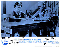 Birdman of Alcatraz (1962) <br /> Lobby card with Burt Lancaster &amp; Thelma Ritter<br /> *Filmstill - Editorial Use Only*<br /> CAP/KFS<br /> Image supplied by Capital Pictures