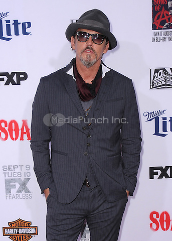 "HOLLYWOOD, CA - SEPTEMBER 6:  Tommy Flanagan at the premiere screening of FX's ""Sons of Anarchy"" at the TCL Chinese Theatre on September 6, 2014 in Hollywood, California. Credit: PGSK/MediaPunch"