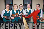 Competing in the Scór na nÓg county finals in Foilmore Community Centre on Sunday from Ballydonoghue, were l-r; Mary Barry, Kerie Ann Dowling, Aoife O'Donnell, Aoife Lynch & Aisling Madden.