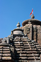 Indien, Orissa, Bhubaneswar, Brahmeswar Mandir (Tempel) 9.Jh.