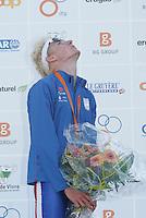 03 SEP 2006 - LAUSANNE, SWITZERLAND - Will Clarke (GBR) wins the u23 Mens World Triathlon Championships. (PHOTO (C) NIGEL FARROW)