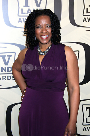 April 14, 2012 T'Keyah Crystal Keymah attends the 10th Anniversary of TV Land Awards  at the Lexington Avenue Armory in New York City..Credit:RWMediapunchinc.com