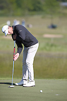 S?ren Hansen (DEN) putting during Round Two of the 2015 Nordea Masters at the PGA Sweden National, Bara, Malmo, Sweden. 05/06/2015. Picture David Lloyd | www.golffile.ie