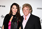 CULVER CITY, CA - OCTOBER 21: TV personality Lisa Vanderpump (L) and husband/restaurateur Ken Todd attend the Dorit Kemsley Hosts Preview Event For Beverly Beach By Dorit at the Trunk Club on October 21, 2017 in Culver City, California.