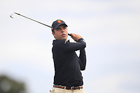 Alejandro Del Ray of Team Spain on the 2nd during Round 3 of the WATC 2018 - Eisenhower Trophy at Carton House, Maynooth, Co. Kildare on Friday 7th September 2018.<br /> Picture:  Thos Caffrey / www.golffile.ie<br /> <br /> All photo usage must carry mandatory copyright credit (&copy; Golffile | Thos Caffrey)