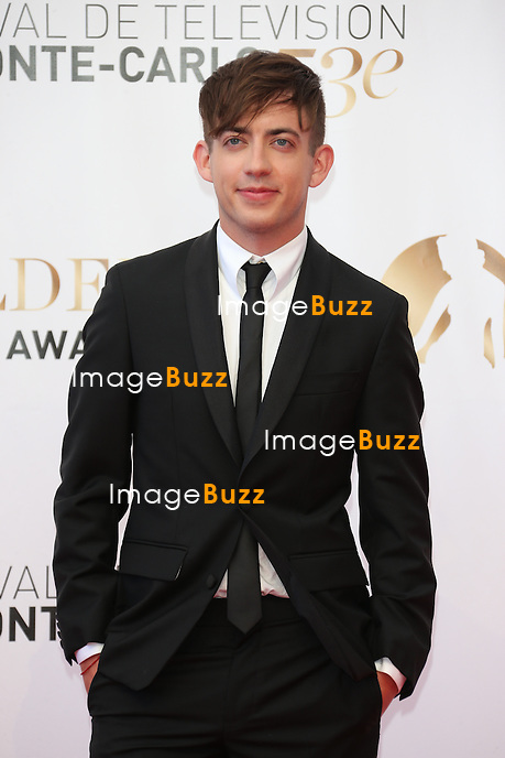CPE/Kevin McHale attends the closing ceremony of the 53rd Monte Carlo TV Festival on June 13, 2013 in Monte-Carlo, Monaco.
