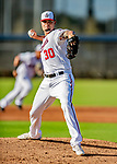 23 February 2019: Washington Nationals pitcher Koda Glover on the mound prior to a Spring Training game against the Houston Astros at the Ballpark of the Palm Beaches in West Palm Beach, Florida. The Nationals walked off with a 7-6 Opening Game win to start the Grapefruit League season. Mandatory Credit: Ed Wolfstein Photo *** RAW (NEF) Image File Available ***