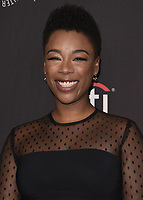 """HOLLYWOOD, CA - MARCH 18:  Samira Wiley at PaleyFest 2018 - """"The Handmaid's Tale"""" at the Dolby Theatre on March 18, 2018 in Hollywood, California. (Photo by Scott KirklandPictureGroup)"""