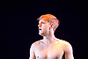 The Chemsex Monologues <br /> by Patrick Cash<br /> at The King's Head Theatre, London, Great Britain <br /> 21st March 2017 <br /> Press Photocall / rehearsal<br /> Directed by Luke Davies<br /> <br /> <br /> Denholm Spurr as Nameless<br /> <br /> <br /> Photograph by Elliott Franks <br /> Image licensed to Elliott Franks Photography Services