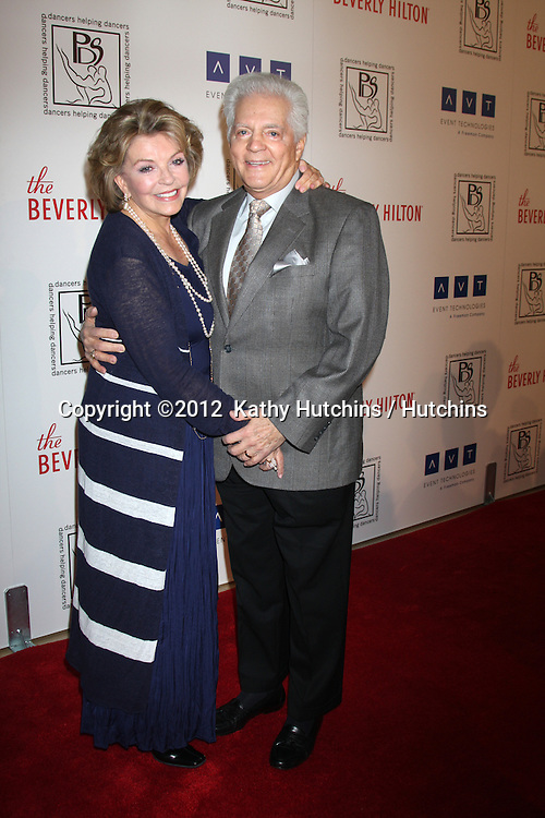 LOS ANGELES - MAR 18:  Susan Seaforth Hayes; Bill Hayes arrives at the Professional Dancer's Society Gypsy Awards at the Beverly Hilton Hotel on March 18, 2012 in Los Angeles, CA