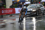 Oliver Naesen (BEL) AG2R La Mondiale in action during Stage 1, a 14km individual time trial around Dusseldorf, of the 104th edition of the Tour de France 2017, Dusseldorf, Germany. 1st July 2017.<br /> Picture: Eoin Clarke | Cyclefile<br /> <br /> <br /> All photos usage must carry mandatory copyright credit (&copy; Cyclefile | Eoin Clarke)