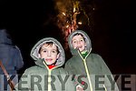 Enjoying the Fireworks at the switching on of the christmas lights in Castleisland on Saturday were Danny and Killian Murphy from Cordal