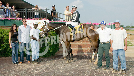 R Vicarious Girl winning at Delaware Park on 5/29/10
